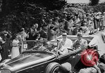 Image of Prime Minister Winston Churchill with Mackenzie King Quebec Canada, 1943, second 5 stock footage video 65675051789