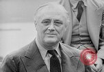 Image of President Roosevelt Quebec Canada, 1943, second 32 stock footage video 65675051793