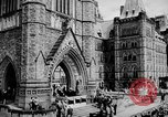 Image of President Franklin D. Roosevelt at steps of Parliament Ottawa, Canada, 1943, second 11 stock footage video 65675051794