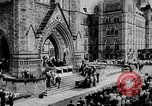 Image of President Franklin D. Roosevelt at steps of Parliament Ottawa, Canada, 1943, second 13 stock footage video 65675051794
