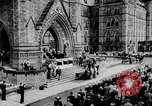Image of President Franklin D. Roosevelt at steps of Parliament Ottawa, Canada, 1943, second 16 stock footage video 65675051794