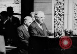 Image of President Franklin D. Roosevelt at steps of Parliament Ottawa, Canada, 1943, second 17 stock footage video 65675051794
