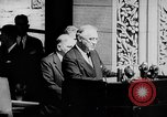 Image of President Franklin D. Roosevelt at steps of Parliament Ottawa, Canada, 1943, second 18 stock footage video 65675051794