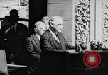 Image of President Franklin D. Roosevelt at steps of Parliament Ottawa, Canada, 1943, second 20 stock footage video 65675051794