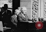 Image of President Franklin D. Roosevelt at steps of Parliament Ottawa, Canada, 1943, second 21 stock footage video 65675051794