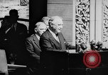 Image of President Franklin D. Roosevelt at steps of Parliament Ottawa, Canada, 1943, second 22 stock footage video 65675051794
