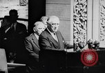 Image of President Franklin D. Roosevelt at steps of Parliament Ottawa, Canada, 1943, second 23 stock footage video 65675051794