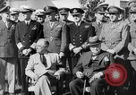 Image of Meetings of President Roosevelt and Prime Minister Churchill during World War 2 Quebec Canada, 1943, second 21 stock footage video 65675051796