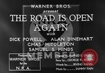 Image of Dick Powell Road is Open Again United States USA, 1933, second 12 stock footage video 65675051797
