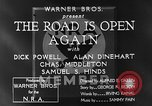 Image of Dick Powell Road is Open Again United States USA, 1933, second 13 stock footage video 65675051797