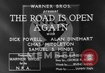 Image of Dick Powell Road is Open Again United States USA, 1933, second 14 stock footage video 65675051797