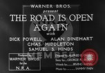 Image of Dick Powell Road is Open Again United States USA, 1933, second 16 stock footage video 65675051797