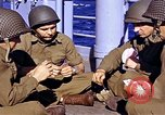 Image of American soldiers playing cards  Casablanca Morocco , 1942, second 2 stock footage video 65675051816