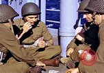 Image of American soldiers playing cards  Casablanca Morocco , 1942, second 9 stock footage video 65675051816