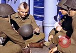 Image of American soldiers playing cards  Casablanca Morocco , 1942, second 11 stock footage video 65675051816