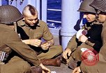 Image of American soldiers playing cards  Casablanca Morocco , 1942, second 12 stock footage video 65675051816