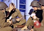 Image of American soldiers playing cards  Casablanca Morocco , 1942, second 13 stock footage video 65675051816