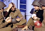 Image of American soldiers playing cards  Casablanca Morocco , 1942, second 15 stock footage video 65675051816