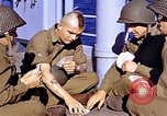 Image of American soldiers playing cards  Casablanca Morocco , 1942, second 17 stock footage video 65675051816