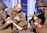 Image of American soldiers playing cards  Casablanca Morocco , 1942, second 19 stock footage video 65675051816