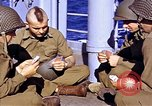 Image of American soldiers playing cards  Casablanca Morocco , 1942, second 20 stock footage video 65675051816