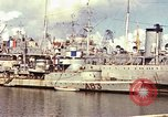 Image of French ships and destroyers Casablanca Morocco, 1942, second 18 stock footage video 65675051818