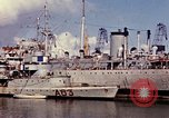 Image of French ships and destroyers Casablanca Morocco, 1942, second 41 stock footage video 65675051818