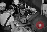 Image of men aboard LST English Channel, 1944, second 8 stock footage video 65675051819