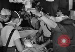 Image of men aboard LST English Channel, 1944, second 15 stock footage video 65675051819