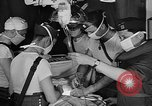 Image of men aboard LST English Channel, 1944, second 17 stock footage video 65675051819
