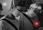 Image of men aboard LST English Channel, 1944, second 56 stock footage video 65675051819