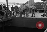 Image of American officers aboard LST English Channel, 1944, second 36 stock footage video 65675051821