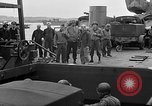 Image of American officers aboard LST English Channel, 1944, second 44 stock footage video 65675051821
