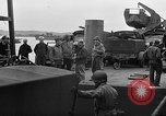 Image of American officers aboard LST English Channel, 1944, second 54 stock footage video 65675051821