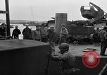 Image of American officers aboard LST English Channel, 1944, second 55 stock footage video 65675051821
