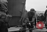 Image of American officers aboard LST English Channel, 1944, second 59 stock footage video 65675051821