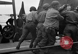 Image of American officers aboard LST English Channel, 1944, second 61 stock footage video 65675051821