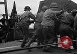 Image of American officers aboard LST English Channel, 1944, second 62 stock footage video 65675051821