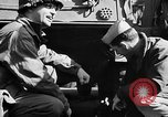 Image of American troops aboard LST English Channel, 1944, second 15 stock footage video 65675051824