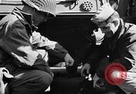 Image of American troops aboard LST English Channel, 1944, second 18 stock footage video 65675051824