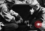 Image of American troops aboard LST English Channel, 1944, second 21 stock footage video 65675051824