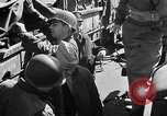 Image of American troops aboard LST English Channel, 1944, second 29 stock footage video 65675051824