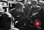 Image of American troops aboard LST English Channel, 1944, second 36 stock footage video 65675051824