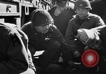 Image of American troops aboard LST English Channel, 1944, second 37 stock footage video 65675051824