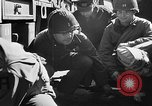 Image of American troops aboard LST English Channel, 1944, second 38 stock footage video 65675051824