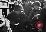 Image of American troops aboard LST English Channel, 1944, second 43 stock footage video 65675051824