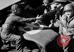 Image of American troops aboard LST English Channel, 1944, second 46 stock footage video 65675051824
