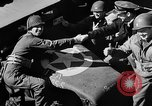 Image of American troops aboard LST English Channel, 1944, second 47 stock footage video 65675051824