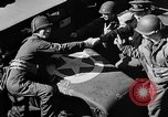 Image of American troops aboard LST English Channel, 1944, second 50 stock footage video 65675051824