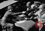 Image of American troops aboard LST English Channel, 1944, second 51 stock footage video 65675051824
